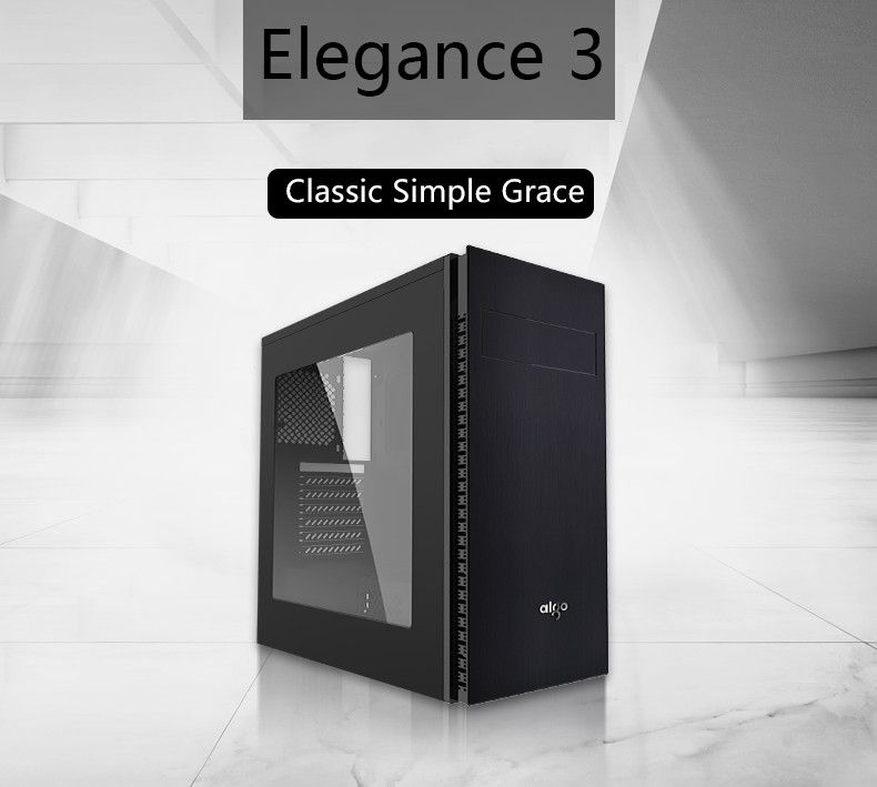Aigo Elegance 3 Atx Computer Case Best Seller Black Atx Case
