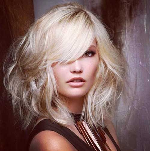 15 Latest Long Bob With Side Swept Bangs Bob Haircut And Hairstyle Ideas Long Bob Hairstyles Hair Beauty Hair Styles