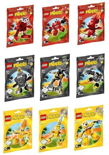 LEGO Mixels Series 1 Complete Set of All Figures/Character   - Click image twice for more info - See a larger selection of lego at http://zkidstoys.com/product-category/lego/ - baby, kids, toddler, toys, toddler toys, kids gift ideas, toddler gift ideas, holiday, christmas 2014, grown up toys, educational toys, building blocks, gift ideas, child, children
