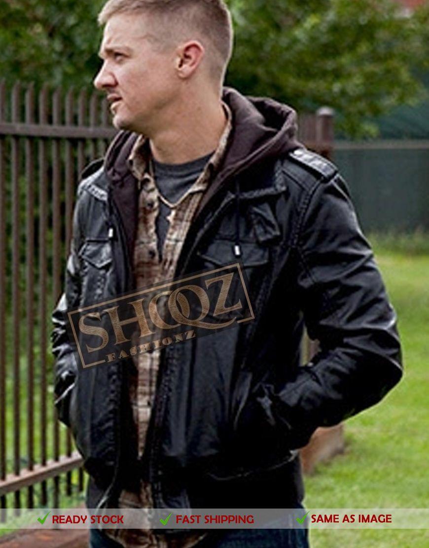 50 Off Jeremy Renner The Town James Jacket Jeremy Renner Leather Jacket Hoodie Leather Jacket Men [ 1110 x 870 Pixel ]