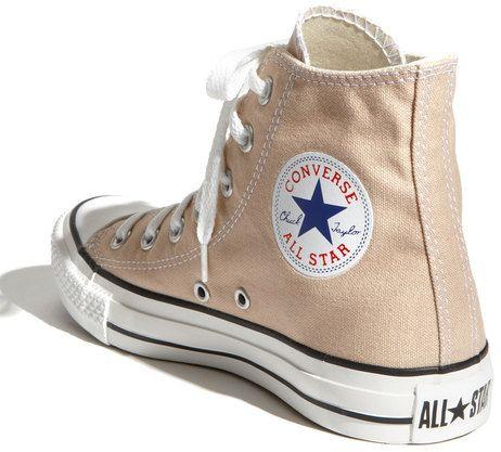 2b2b5e74c2a1 Converse Chuck Taylor® High Top Sneaker in Beige (frappe)