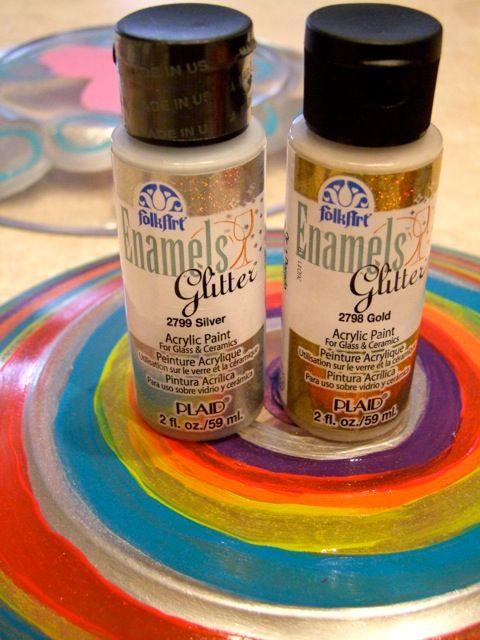 Teaching Thursdays: Painted Plates | Paint Me Plaid