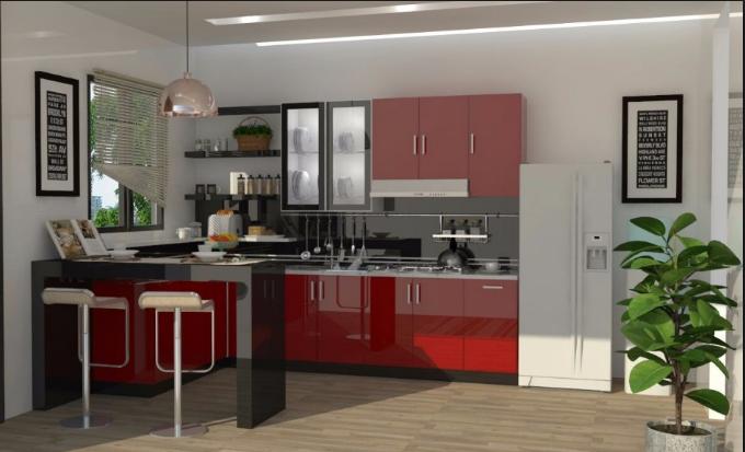 Harga Kitchen Set Aluminium Per Meter Terbaru Dan Murah Design
