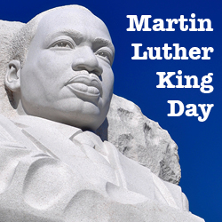Martin Luther King Day 2015 on 19th of January. 1