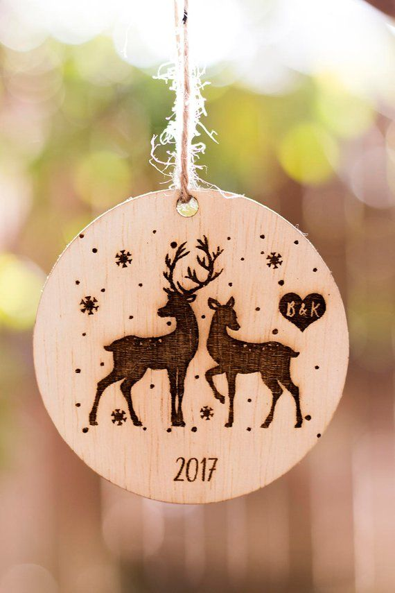 Personalized Christmas Ornament, Wooden Christmas Ornament ...