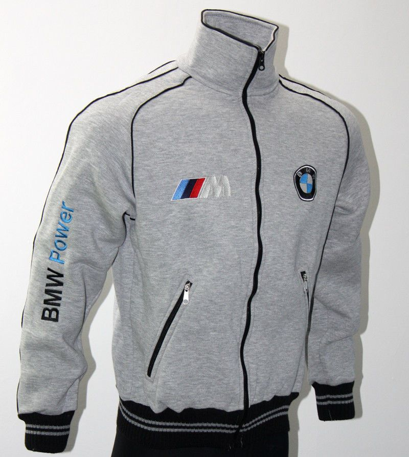 online store b7bbd 9b303 BMW M Performance fleece polar Jacket - embroidered logos ...