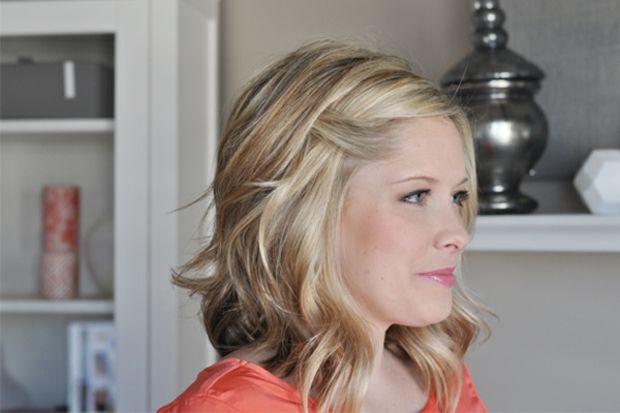 Frisuren mittellange haare lockig