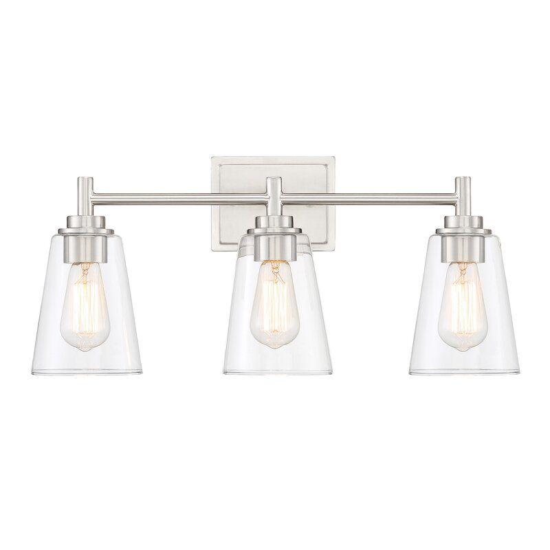 Fahmida 3 Light Dimmable Vanity Light Vanity Lighting Light Camping Lights