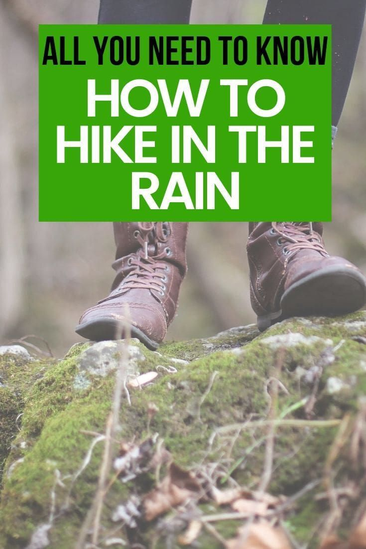 Photo of Top Tips for Hiking in the Rain