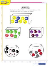 Probability Worksheet For 2nd Grade Kids