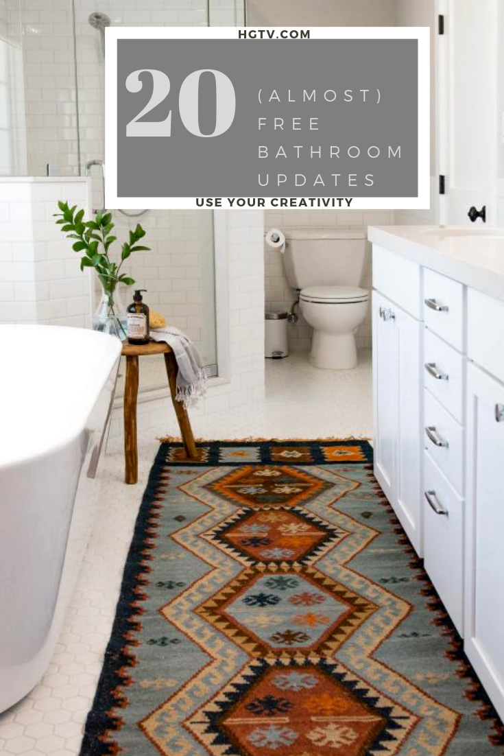 Updating Your Bathroom Doesn T Have To Be Expensive Take A Look At What You Can Do With A Little Creat Bathroom Remodel Cost Bathrooms Remodel Cheap Bathrooms