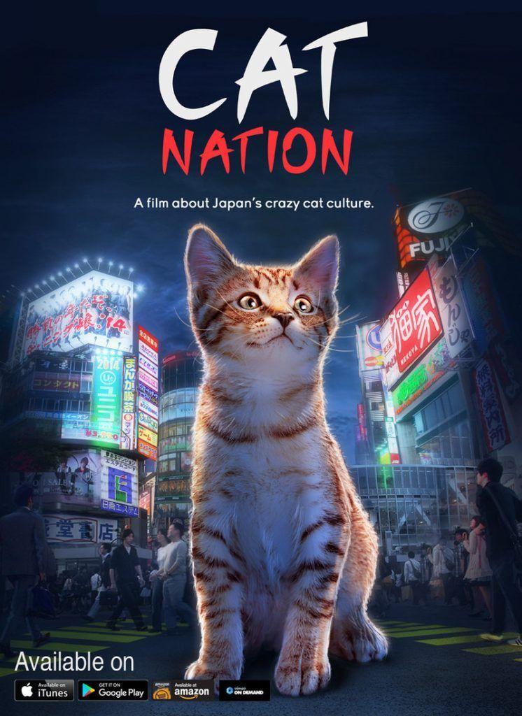 Catnation Prnewsfoto Cat Nation A Film About Japan S Crazy Cat Culture Crazy Cats Cat Heaven Cats