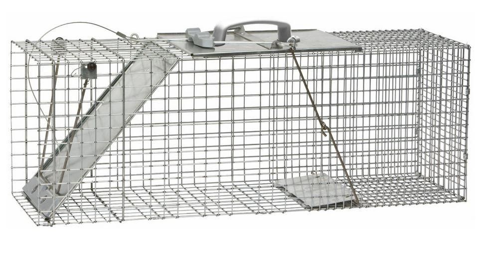 "Havahart 1085 Large Easy Set Animal Trap, 32"" X 10"" X 12"