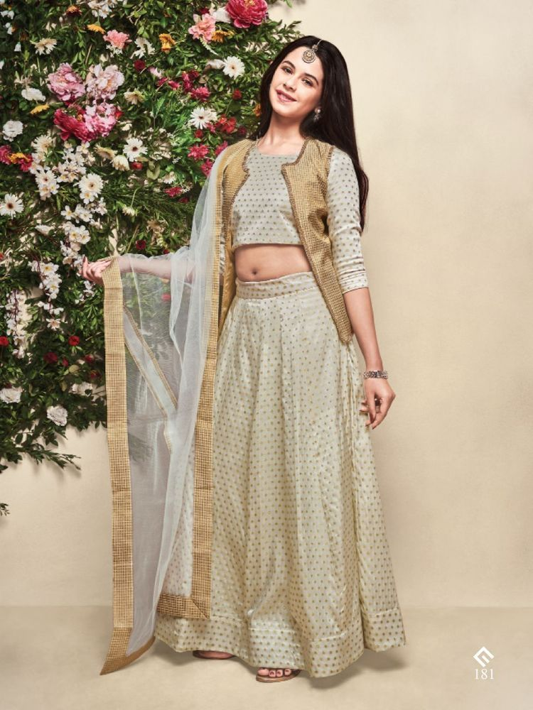 Indian Traditional Wear Lehengha Choli From Wedding Collection Kids ...