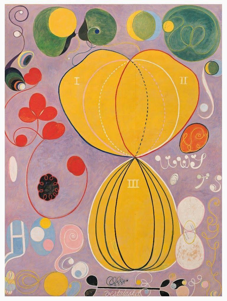 14 idées de Hilma af Klint | peinture, art, art abstrait