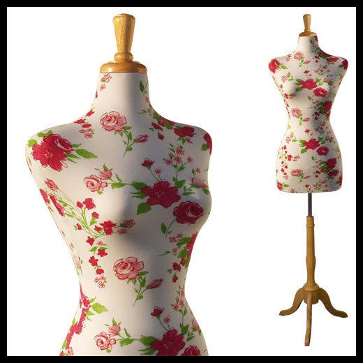 Purrrr We Need To Cover Matilda Female Decorative Dress Form