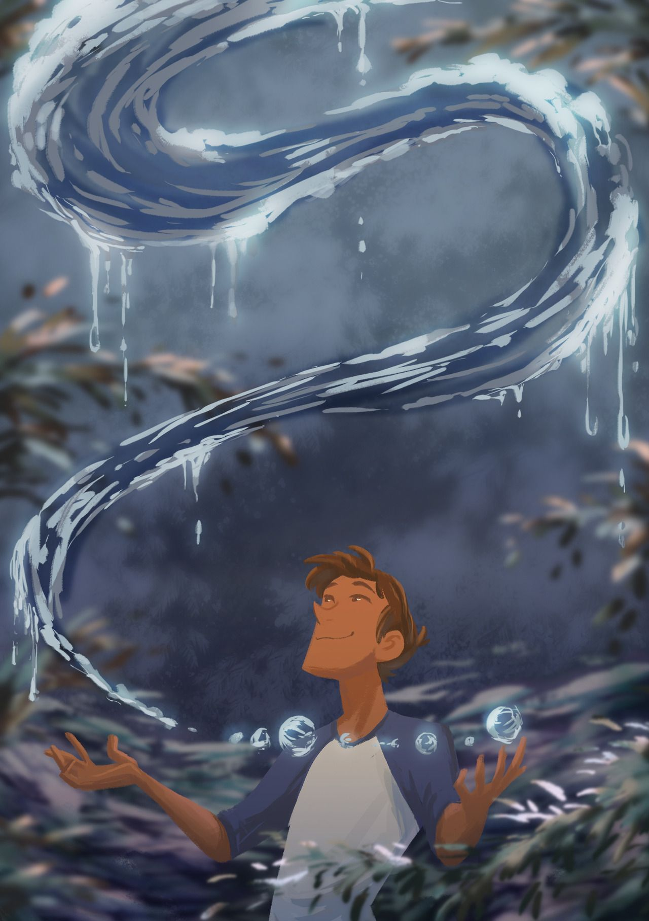 Some water witch Lance making sure his plant... | Dreamworks In Progress