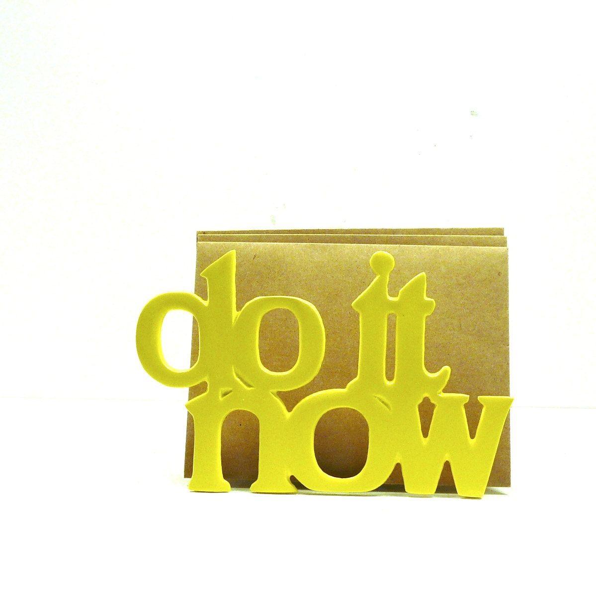 do it now letter holder, office, desk accessories, organizer ...