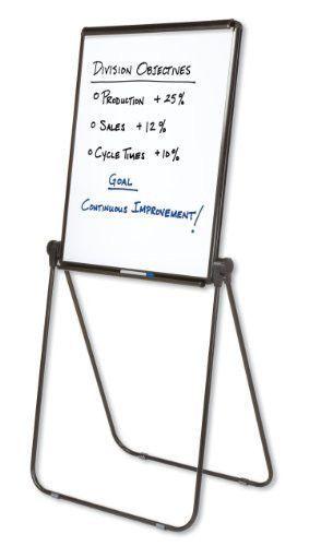 Ultima Presentation Easel, 27 X 34, White Surface, Black