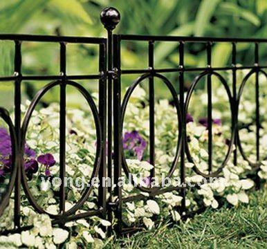 Iron Fence Edging Fence Landscaping Garden Fence Garden Fencing