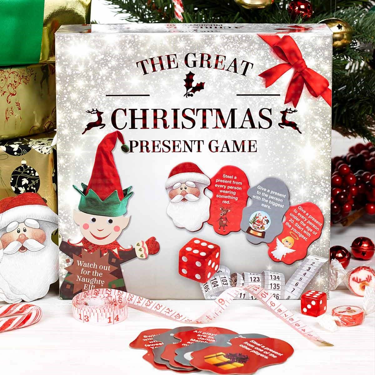 the great christmas present game - What Is A Good Christmas Present