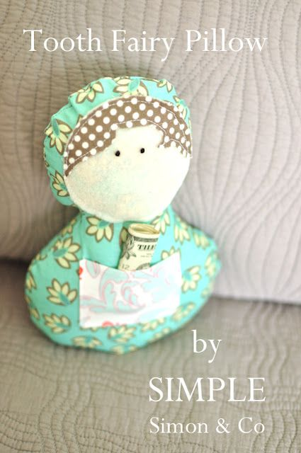 Riley Blake Designs Blog: Project Design Team Wednesday~Tooth Fairy Pillow