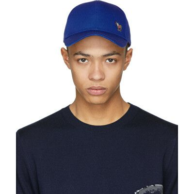 e0ada474a PS by Paul Smith Designer Blue Zebra Cap   Men > Accessories > Hats ...