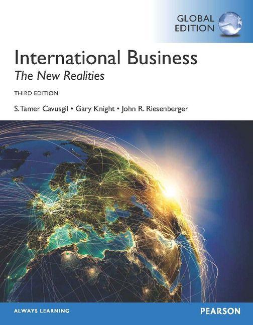 International business : the new realities