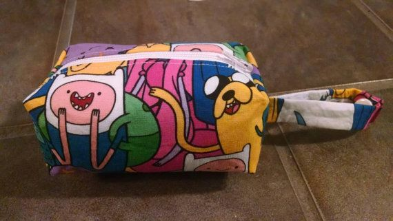 Adventure Time Pacifier Pouch $7