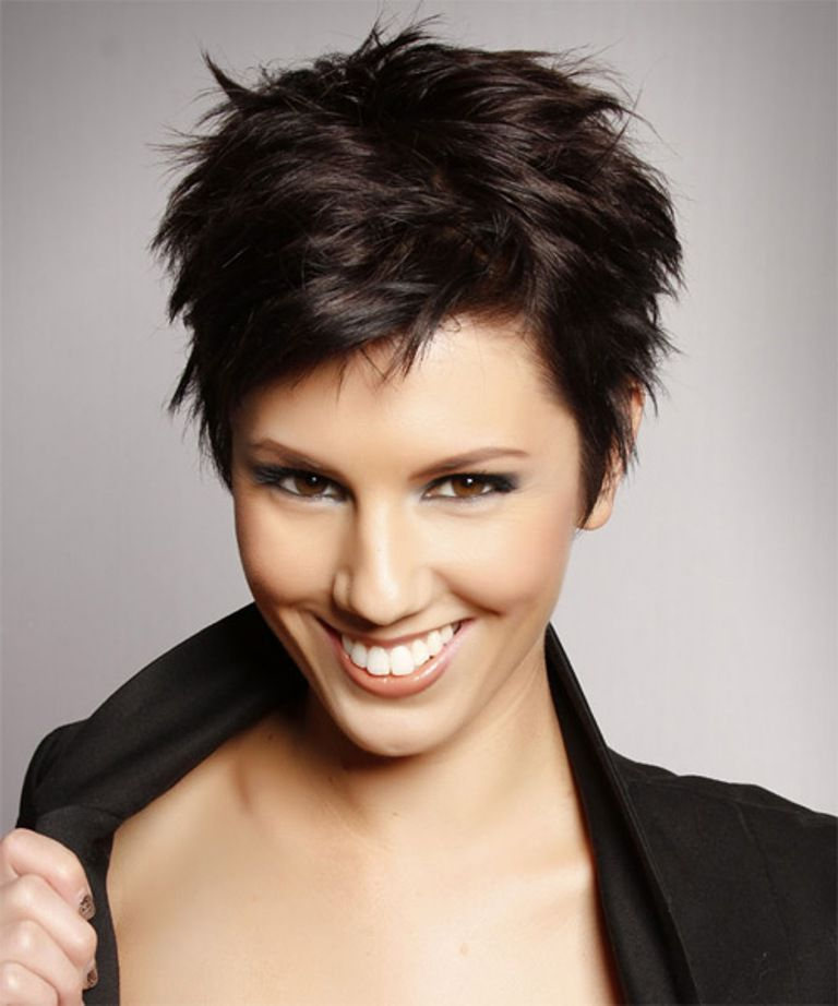 Short Hairstyles For 2014 Swanky Short Hairstyles F Or Round Faces