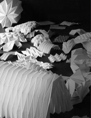 paper folding models, origami
