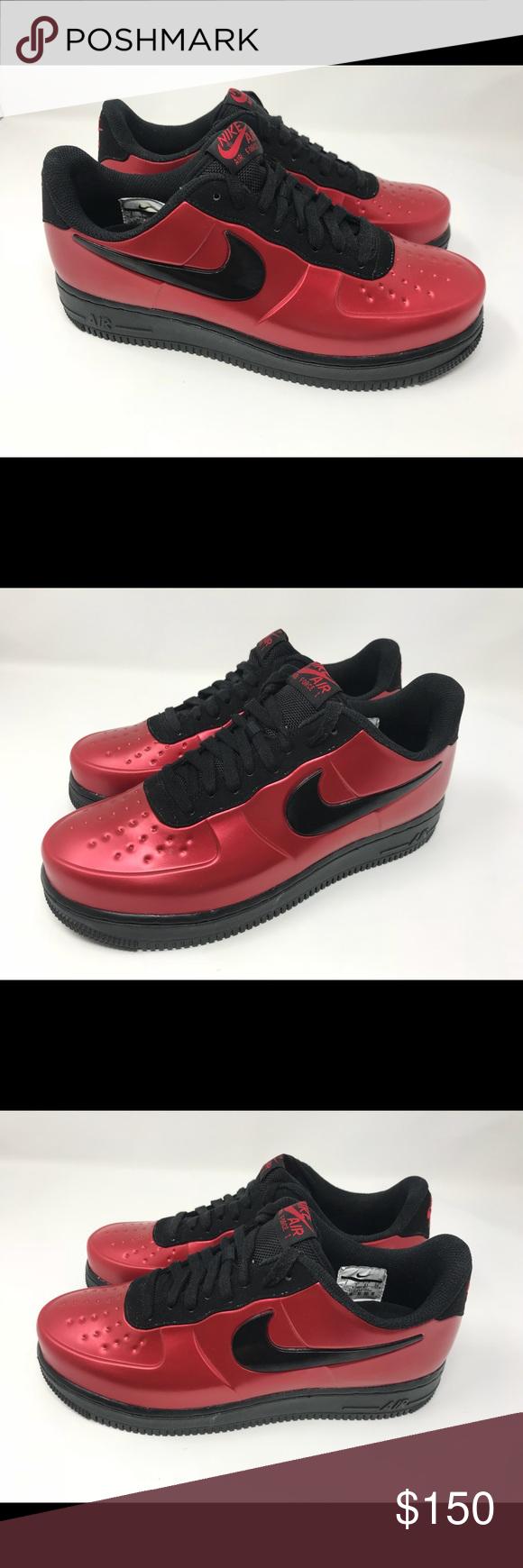 27557cc5ea8 NEW MEN S NIKE AIR FORCE 1 FOAMPOSITE PRO Sz 8 NEW MEN S NIKE AIR FORCE 1  FOAMPOSITE PRO CUP GYM RED BLACK Sz 8 Nike Shoes Sneakers