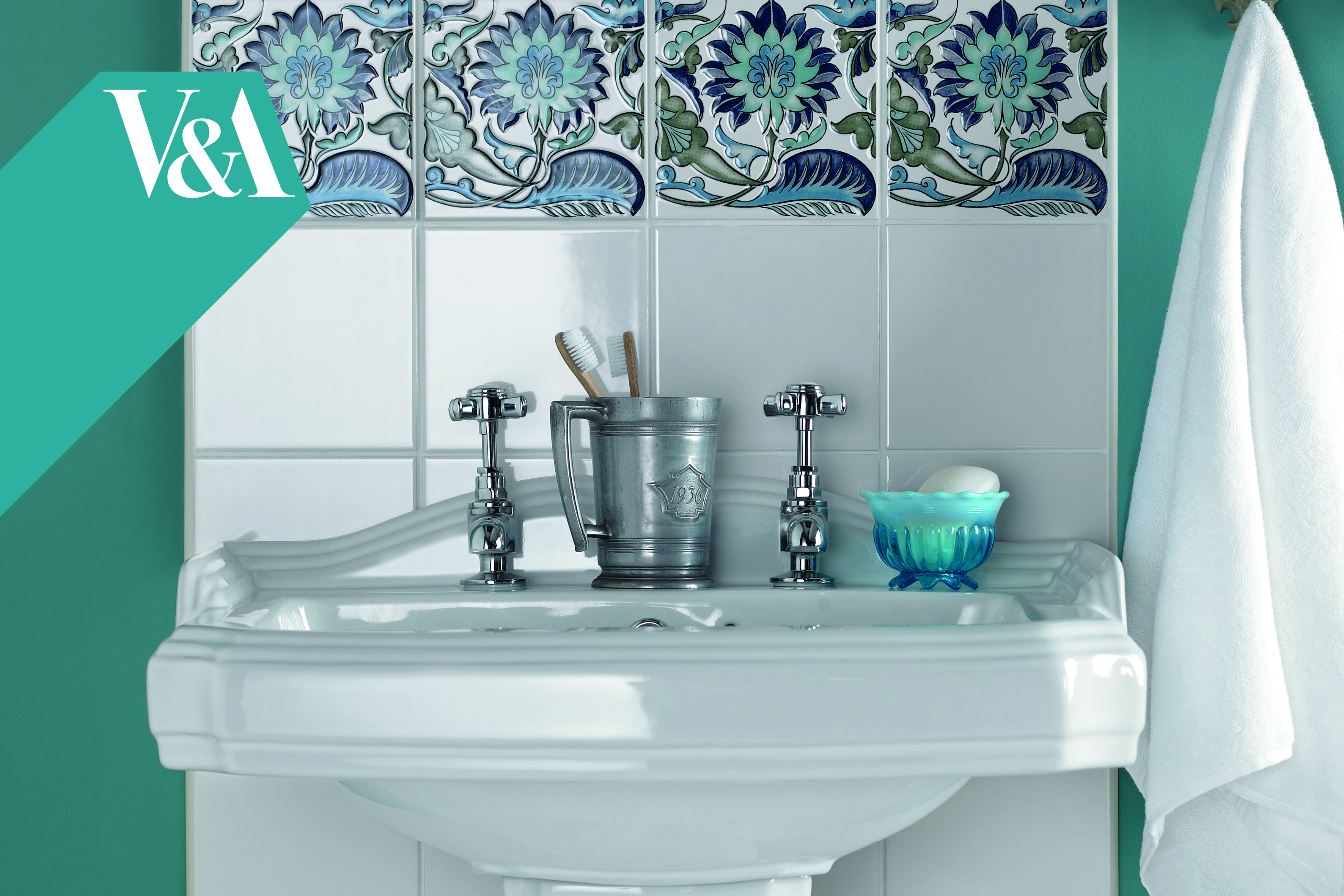 V&A Morgan Decor Wall tiles from House of British Ceramic Tile http ...