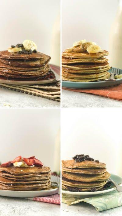 47 Recipe Tasty Fruity Flapjacks: Peanut Butter Banana Powerhouse