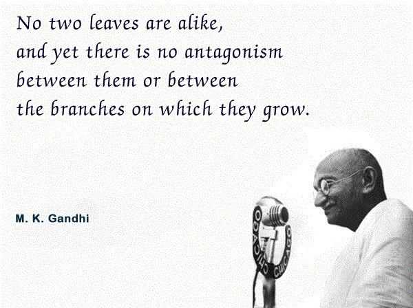I Wish Mankind Were Like Leaves Equality Quotes Gandhi Quotes Inspirational Quotes