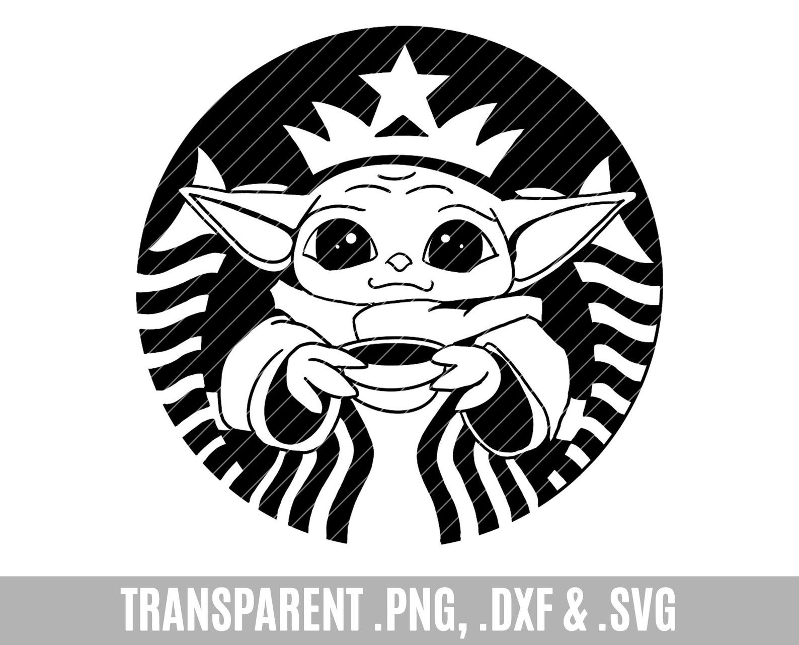 Baby Yoda Svg The Mandalorian The Child Baby Yoda Png Star Wars Svg Png The Child Png Graphic T Shirt Design Star Wars Silhouette Yoda Drawing Star Wars Baby