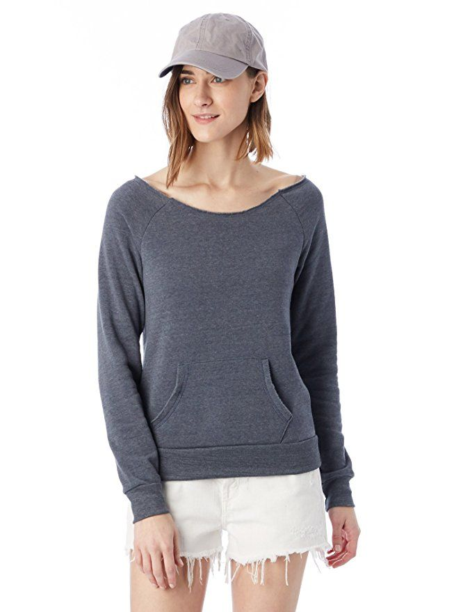 FIND Women's Raw Edge Sweatshirt Low Shipping Fee Sale Online Official Sale Online Free Shipping From China Countdown Package Cheap Price Extremely Cheap Online QjaR5p