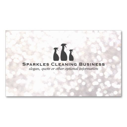 Elegant cleaning service white bokeh business card cleaning elegant cleaning service white bokeh business card reheart Choice Image