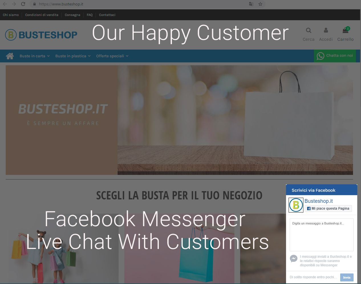 Messenger Live Chat With Customers Module in 2019