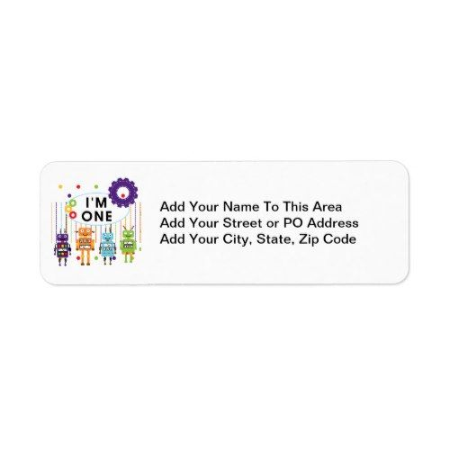 robot first birthday tshirts and gifts label in 2018 1st birthday