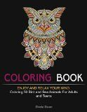 Free Kindle Book -  [Self-Help][Free] Coloring Book: Enjoy and Relax Your Mind: Coloring 50 Bird and Sea Animals For Adults and Teens (bird patterns, sea animals, zendoodle coloring)