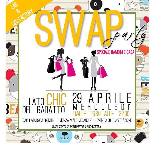 Nuovo appuntamento con Swap Party Monza in una veste tutta nuova dedicata ai bambini.