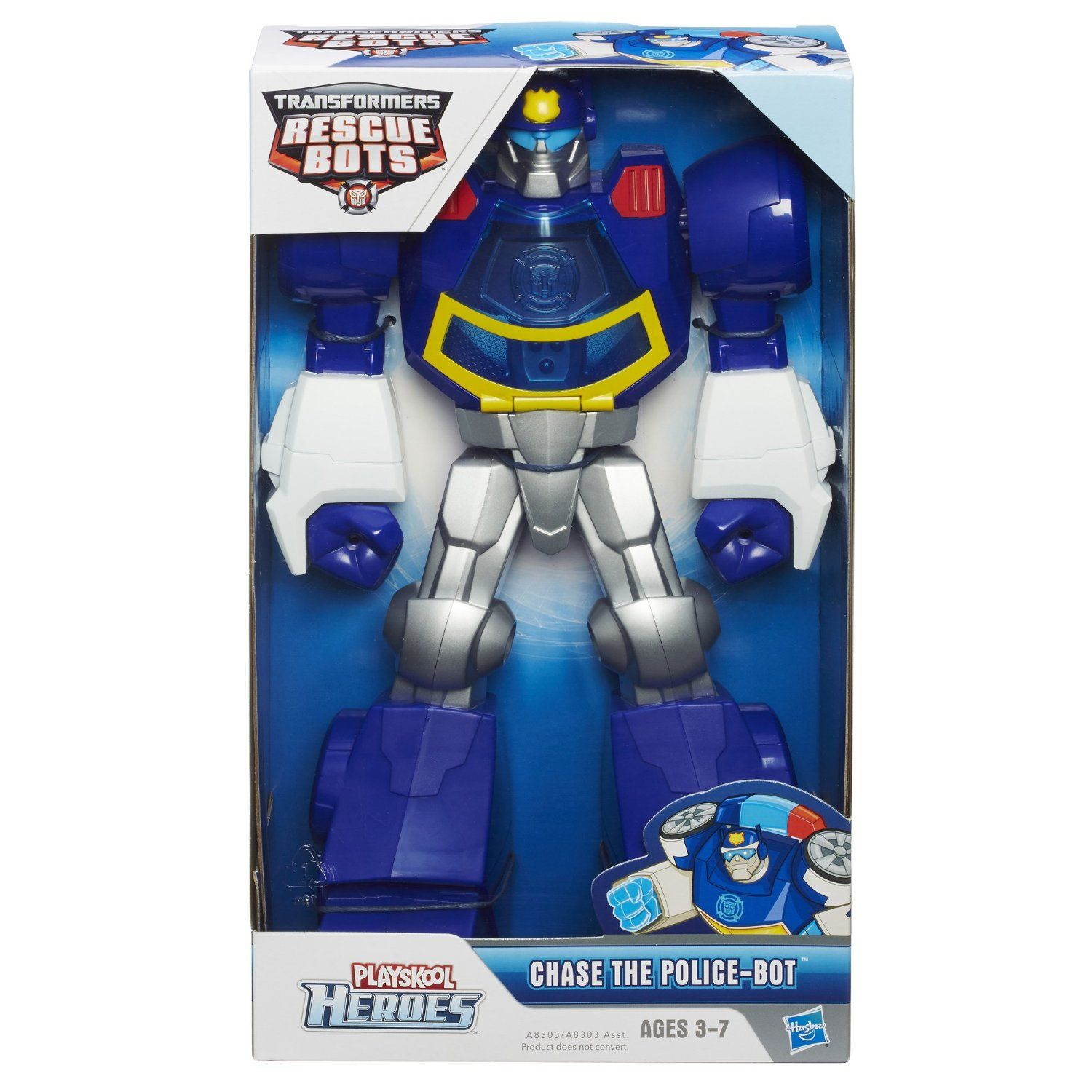 Amazon playskool transformers rescue bots chase the
