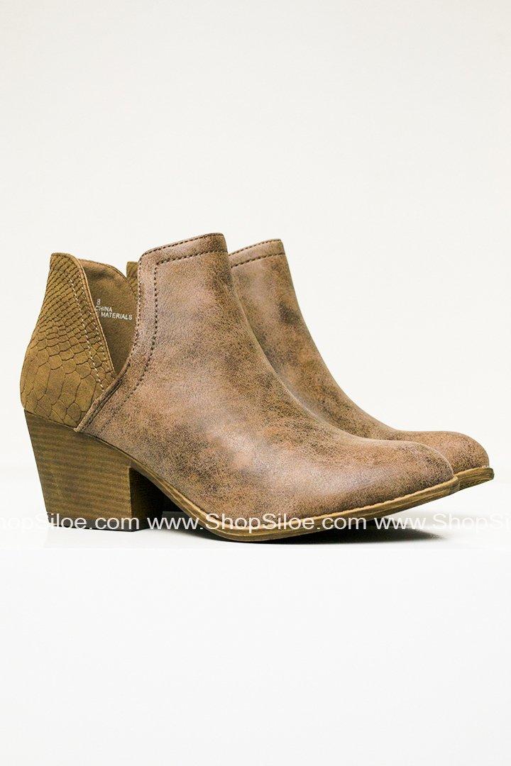 7523b5ee810b1 Rusty Suede Mocha Booties | Products | Booty, Suede booties, Brown ...