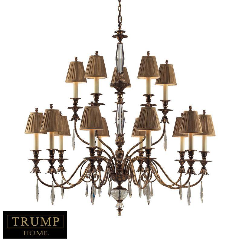Elk 2466 10 5 Trump Home Light Burn Gold Leaf Finish