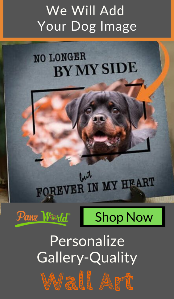 Forever In My Heart Personalized Canvas in 2020 Dog