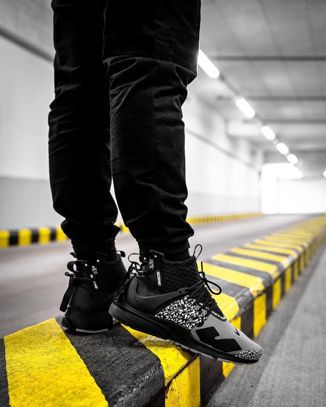 Nike Air Presto x Acronym Size : 40,41,42,43,44 Premium High ...