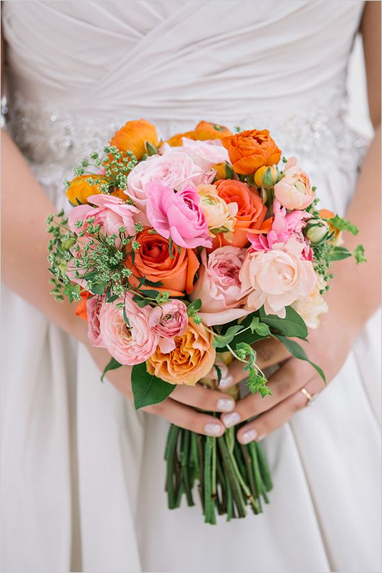 Bright And Colorful Florida Panhandle Wedding Wedding Flowers Wedding Bouqet Beautiful Bouquet