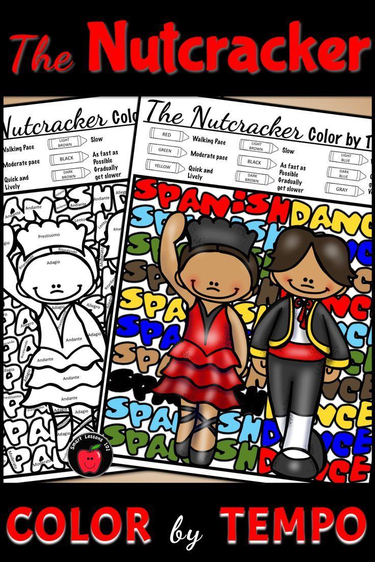 the nutcracker colorcode christmas music colornote