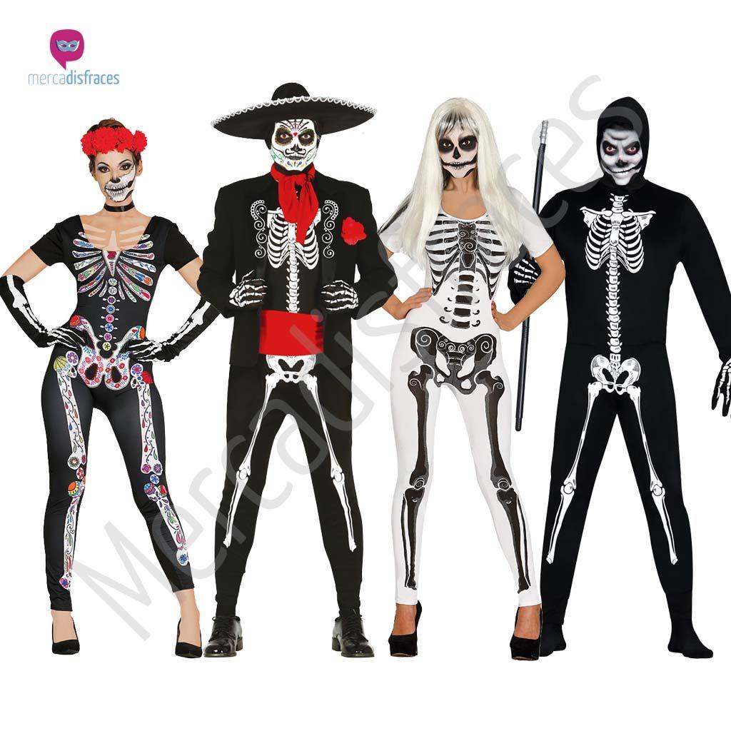 Disfraces de esqueletos para grupos y comparsas - Disfrazes para carnavales ...